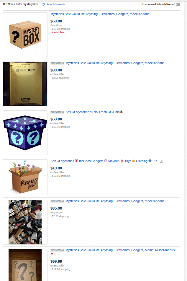 Darknet Mystery Boxes And Un Boxing Buying Mystery Boxes On Ebay And Claiming They Came From The Scary Scary Darknet For Ad Revenue Krypt3ia